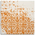 rug #1101538   square orange faded rug