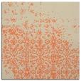 rug #1101542   square orange faded rug