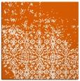rug #1101610 | square red-orange faded rug