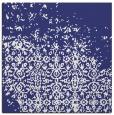 rug #1101626 | square white damask rug