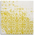 rug #1101654 | square yellow graphic rug