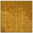 rug #1101658 | square light-orange damask rug