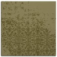rug #1101678 | square light-green damask rug