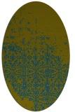 rug #1101778   oval green rug