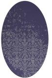 rug #1101790   oval blue-violet traditional rug