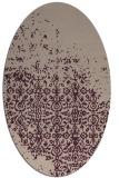 rug #1101863   oval faded rug