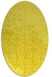 rug #1101993 | oval faded rug