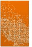 rug #1102066 |  orange damask rug