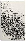 rug #1102070 |  white damask rug