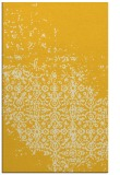 rug #1102382 |  yellow damask rug