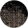 rug #1102447 | round faded rug