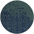 rug #1102474 | round blue traditional rug