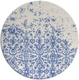 rug #1102482 | round blue faded rug