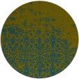 rug #1102514 | round green rug