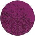 rug #1102520 | round damask rug