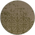 rug #1102550 | round brown faded rug