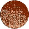 rug #1102649 | round damask rug