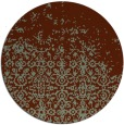 rug #1102652 | round faded rug