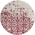 rug #1102658 | round pink traditional rug