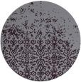 rug #1102682 | round purple traditional rug