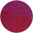 rug #1102698 | round red traditional rug