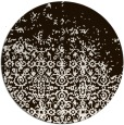 rug #1102734 | round brown faded rug