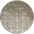 rug #1102746 | round beige faded rug