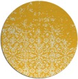 rug #1102750 | round yellow faded rug