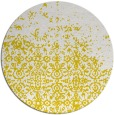 rug #1102758 | round white faded rug