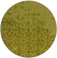 rug #1102770 | round light-green graphic rug
