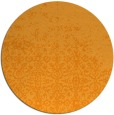 rug #1102794 | round light-orange traditional rug