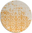 rug #1102798 | round white traditional rug