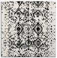 rug #1103174   square black borders rug