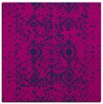 rug #1103206 | square blue damask rug