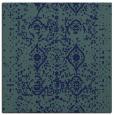 rug #1103210 | square blue traditional rug