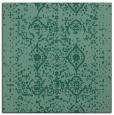 rug #1103226 | square blue-green borders rug