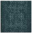 rug #1103246 | square blue-green faded rug