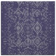 rug #1103262 | square blue-violet faded rug