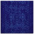 rug #1103274 | square blue-violet damask rug