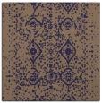 rug #1103278 | square blue-violet damask rug
