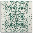 rug #1103306 | square blue-green popular rug