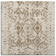 rug #1103326 | square mid-brown faded rug