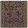 rug #1103414 | square purple traditional rug