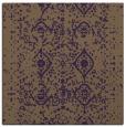 rug #1103414 | square mid-brown borders rug