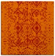 rug #1103426 | square red traditional rug