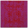 rug #1103434 | square red traditional rug