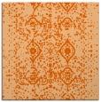 rug #1103442 | square red-orange traditional rug