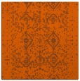 rug #1103446   square red-orange borders rug