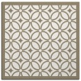 rug #110345 | square white geometry rug