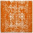 rug #1103450   square red-orange borders rug